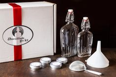 My damson gin took a hit last night: like the look of this gin-infusing kit from @food52 - although not the price