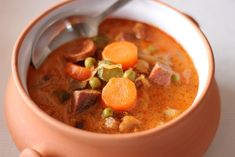 Thai Red Curry, Soup, Ethnic Recipes, Soup Appetizers, Soups, Chowder