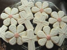 decorated first communion cookies | first communion cookies - Google Search
