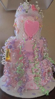 diaper cake #timelesstreasure