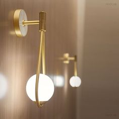 These stunning little brass lights by @fratointeriors 💕 we love the marble on the fixing plate • No.12 Loves