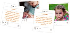 Blinkbuggy, memories are precious. Looks like a really neat site for an online baby (and beyond) book.