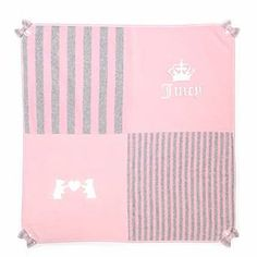 Juicy Couture velour baby blanket