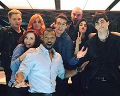 Our beautiful, perfect cast. Love them all sooo much!! #shadowhunters xx