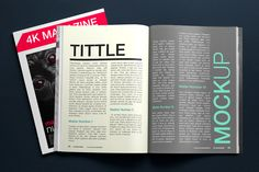 3 FREE ultra-realistic magazine mockups! Well-organized layers all labelled by color & name! High quality print size (2500-1667) & easily customized! Smart Obect based - optimized for A4