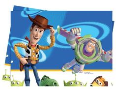 3c57c31f36 Disney Toy Story 3 Plastic Tablecover 120 X 180 Cm by Decorata party.  7.78.
