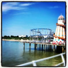 """See 77 photos and 10 tips from 647 visitors to Clacton Pier. """"Free to enter pier; British Seaside, British Isles, Caravan Holiday, Butlins, Uk Holidays, Holiday Park, Seaside Towns, Days Out, Surfing"""