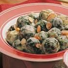Savoy Sprouts! Cream of chicken soup creates the easy sauce coating for even more delicious Brussels sprouts!