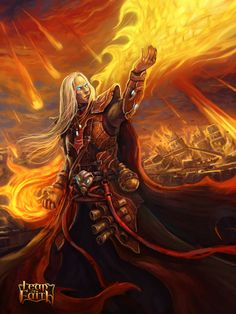 Powerfull Fire Mage