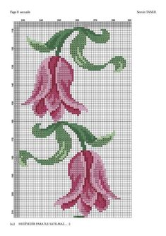 This Pin was discovered by mrw Cross Stitch Borders, Cross Stitch Rose, Cross Stitch Flowers, Cross Stitch Designs, Cross Stitching, Cross Stitch Embroidery, Hand Embroidery, Cross Stitch Patterns, Prayer Rug