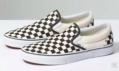 Vans Slip On Flame Black & White Skate Shoes Black, MensWomens Slip Ons Mens, Skate Shoes, Skate Shoes, Slip Ons, Slip Ons, Womens