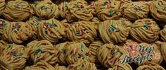 Best Christmas Cookies, Square Cakes, Crinkles, Cookie Recipes, Almond, Stuffed Mushrooms, Nutella, Vegetarian, Treats