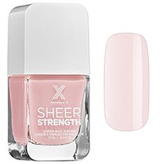Sheer Strength – Treatment Nail Polish in Wondrous (sheer pink porcelain) - Formula X | Sephora