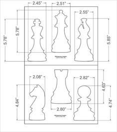 Graveuse Laser, Diy Chess Set, Chess Sets, Giant Chess, Wood Carving Patterns, Wood Turning Projects, Chess Pieces, Printable Crafts, Scroll Saw Patterns