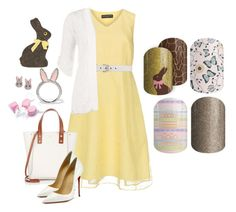 """Easter Set - Jamberry Nails"" by kspantongroup on Polyvore featuring Manon Baptiste, Gucci, WearAll, Fontana Milano 1915, Christian Louboutin and Kate Spade"