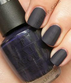 Russian Navy Matte, actually just opi in general