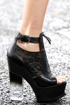 Haute Couture - Erdem Spring 2014 Ready-to-Wear Heeled Boots, Bootie Boots, Shoe Boots, Ankle Boots, Sock Shoes, Cute Shoes, Me Too Shoes, Awesome Shoes, Dream Shoes