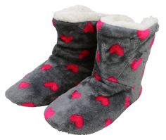 057b08a747a1f Enimay Women's Slipper Boots Lounge House Relaxed Shoes Hearts Stars Polka  Dots Cheap Clothes Uk,