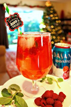 Santa's Sleigh Drink Recipe - The Funny Mom Blog