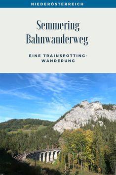Eine Trainspotting Wanderung auf 21 Kilometern rund um Viadukte, pfeifende Züge und herrlichen Ausblicken. Streckenbeschreibung und Tipps für den Bahnwanderweg zwischen Semmering und Payerbach. #SemmeringWandern #ÖsterreichSchönsteOrte #ÖsterreichUrlaub #ÖsterreichWandern #ÖsterreichUrlaubSommer #NiederösterreichAusflug #Niederösterreich #ÖsterreichAusflugsziele #AusflügeÖsterreich #AusflugszieleinÖsterreich #Semmeringwandern #Semmeringbahn #WanderninNiederösterreich #WandertippsÖsterreich Desktop Screenshot, Outdoor, Travel, Art, Europe, Day Trips, Road Trip Destinations, Tours, Outdoors