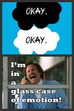 Who ever knew the word okay would never be the same?  Lol, now I feel like Ron Burgandy! The Fault In Our Stars