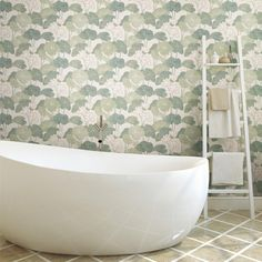 Neutral Lily Pads Peel and Stick Wallpaper - The Home Depot i pad RoomMates sq. Neutral Lily Pads Peel and Stick Wallpaper - The Home Depot Tips And Tricks, Rental Decorating, Decorating Tips, Apartment Decorating On A Budget, Interior Decorating, Jacuzzi, Baby Wall, Rental Bathroom, Bathroom Ideas