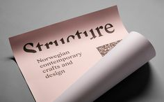 Norwegian Structure by Bielke & Yang, Norway. #branding #posters
