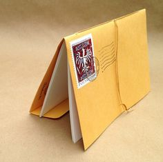 DIY envelope journal for your purse