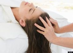 """""""Massage increases blood flow, which plumps up slack skin, encourages lymphatic drainage (the shuttling of toxins out and away from cells so that more nutrients can travel in) and adds vitality to a dull complexion and lackluster hair,"""" Kimara Ahnert, a New York City skin-care studio owner told Women's Health."""