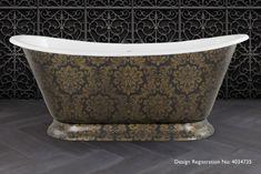 Freestanding roll top baths from our Galleon range Cast Iron Bath, Roll Top Bath, Baths, Baroque, Leather