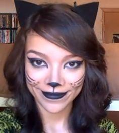 Halloween Makeup Tutorial: Alluring Wild Cat | Makeup Ideas ...