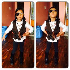 Getting creative..pirate waistcoat out of a bakhu cut out☺️