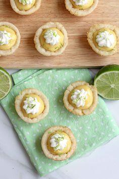 Key Lime Pie Cookie Cups #keylime #pie #cookies
