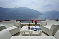 Villa Splendid - modern luxury lake-front villa rental with pool on Lake Como, Italy