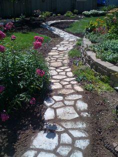 Beautiful garden path!