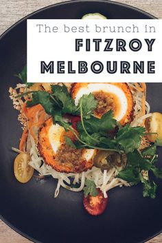 Where to find the best brunch in Fitzroy, Melbourne. Including the best vegetarian brunches in Melbourne. Proud Mary, Industry Beans, Addict and more. Melbourne Food, Melbourne Australia, Lunches And Dinners, Meals, Vegetarian Brunch, Australia Travel, Coast Australia, Western Australia, Beautiful Places In The World