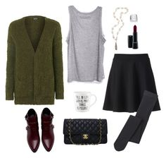 """""""Your choice"""" by mooneyes1218 on Polyvore featuring Apt. 9, Enza Costa, Topshop, Zara, MAC Cosmetics, Jordan Alexander, Falke, Chanel and Palm Beach Jewelry"""