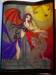 Spellbinding Images, A Grayscale Fantasy Coloring Book - pastelky cretacolor carmina a vazelina