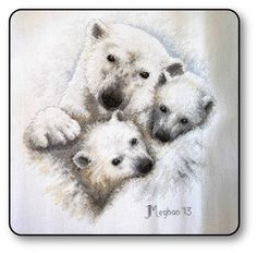 Polar Bear cross stitch