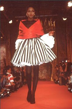 Christian Lacroix Haute Couture Fall-Winter 1987, via Flickr.