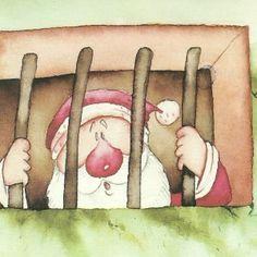 Χριστουγεννιάτικα θεατρικά, γιορτές στο νηπιαγωγείο: Ο Άι Βασίλης στη φυλακή Christmas Books, Christmas Crafts, Xmas, Christmas Plays, Always Learning, Winter Activities, Puppets, Dolls, Education