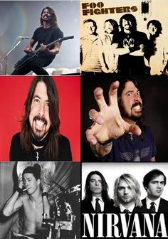 Dave Grohl, 46 today  Born David Eric Grohl ~ January 14, 1969 in Warren, Ohio, US  (Also known as Davy Grolton, Dale Nixon, Dr. G, Late!) Rock musician, multi-instrumentalist, singer-songwriter and producer who first gained recognition and fame as the drummer for the grunge band Nirvana. He is also the lead vocalist, rhythm guitarist, main songwriter and founder of the band Foo Fighters. All My Life by Foo Fighters  PLAY >>> www.youtube.com/watch?v=xQ04WbgI9rg