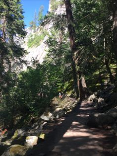 June 27, 2017 Hiking the Mist Trail to Vernal Falls at Yosemite National Park