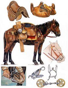 """Cavalry equipment"", Christa Hook"