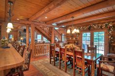 Rustic Mission style dining room - Google Search