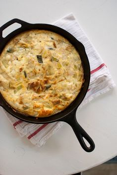 leek frittata + 13 other delicious Leek Recipes on Rainbow Delicious.