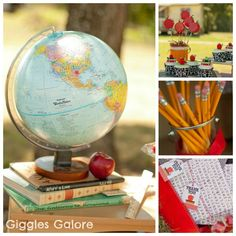 Calling all Bookworms for a Back to School Party - Giggles Galore