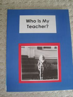 Who is my teacher? put this in the classroom library...so cute