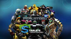 """Real Steel HD v1.32.2 MOD, Baseado no filme de 2011 """"Gigantes de Aço"""" este game incluiu novos modos Torneio e Sobrevivência com gráfico em HD."""