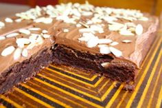 Chocolate Almond Cake for Passover....Best cake I've ever had!